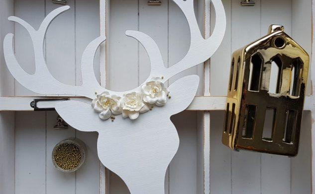 494. Biały jeleń