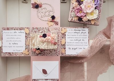 Jesienny box ślubny