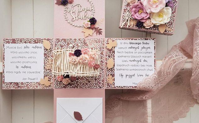 504. Jesienny box ślubny