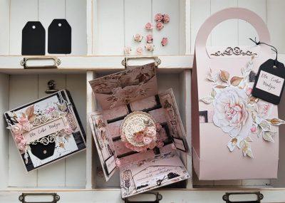 Box w nosidełku na 30 urodziny przyjaciółki