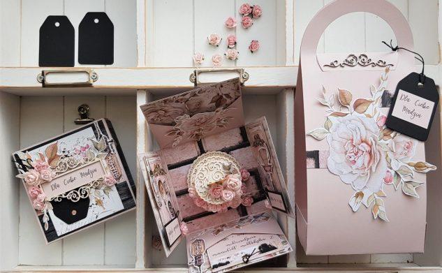 530. Elegancki urodzinowy box w nosidełku