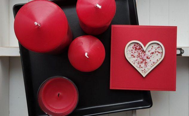 538. Walentynkowy shaker box