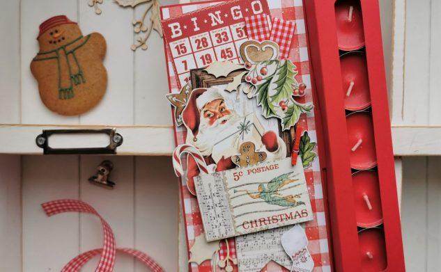 688. Pudełko ze Świętym Mikołajem 🎅