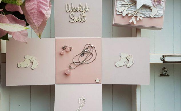 303. Romantyczne pudełko na biżuterię